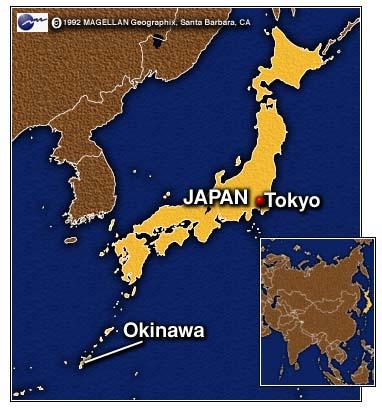 Japon île d'Okinawa